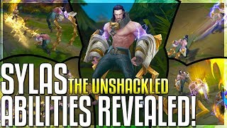 SYLAS ALL ABILITIES REVEALED!! New Champion! The Unshackled - League of Legends