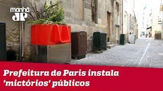 Prefeitura de Paris instala