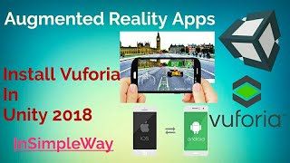 Vuforia Installatie in Unity3D 2018: AR(Augmented Reality) Toepassing