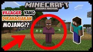 Misteri Villager Yang Dirahasiakan Mojang Di Minecraft PE - VILEBRINE??