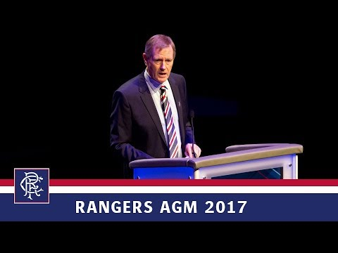 RANGERS AGM 2017 | Dave King Speech