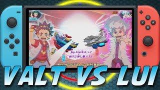 VALT VS LUI   Beyblade Burst Battle Zero Gameplay PART 6 ベイブレードバースト バトルゼロ Switch