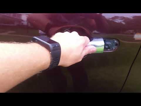 Kia Sorento door handle fix.  Easy