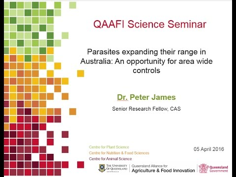 PARASITES EXPANDING IN AUSTRALIA: An opportunity for area wide controls