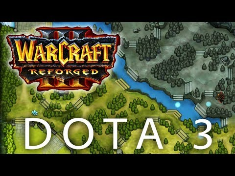 Dota 3 Warcraft Iii Reforged Defense Of The Ancients Allstars