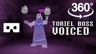 Toriel Battle Vr 360 - Voiced 3d Remake