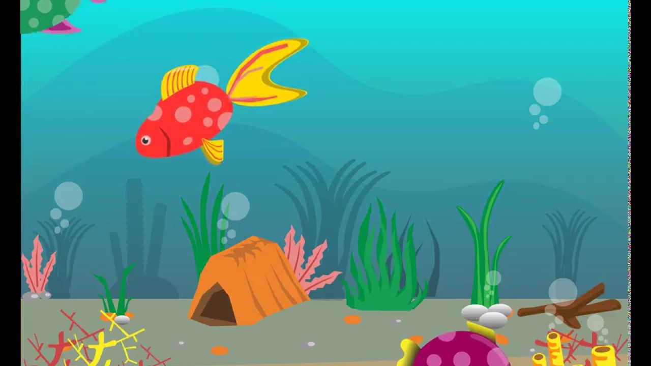 Peixinhos Coloridos Para Criancas Inteligentes Desenho Infantil