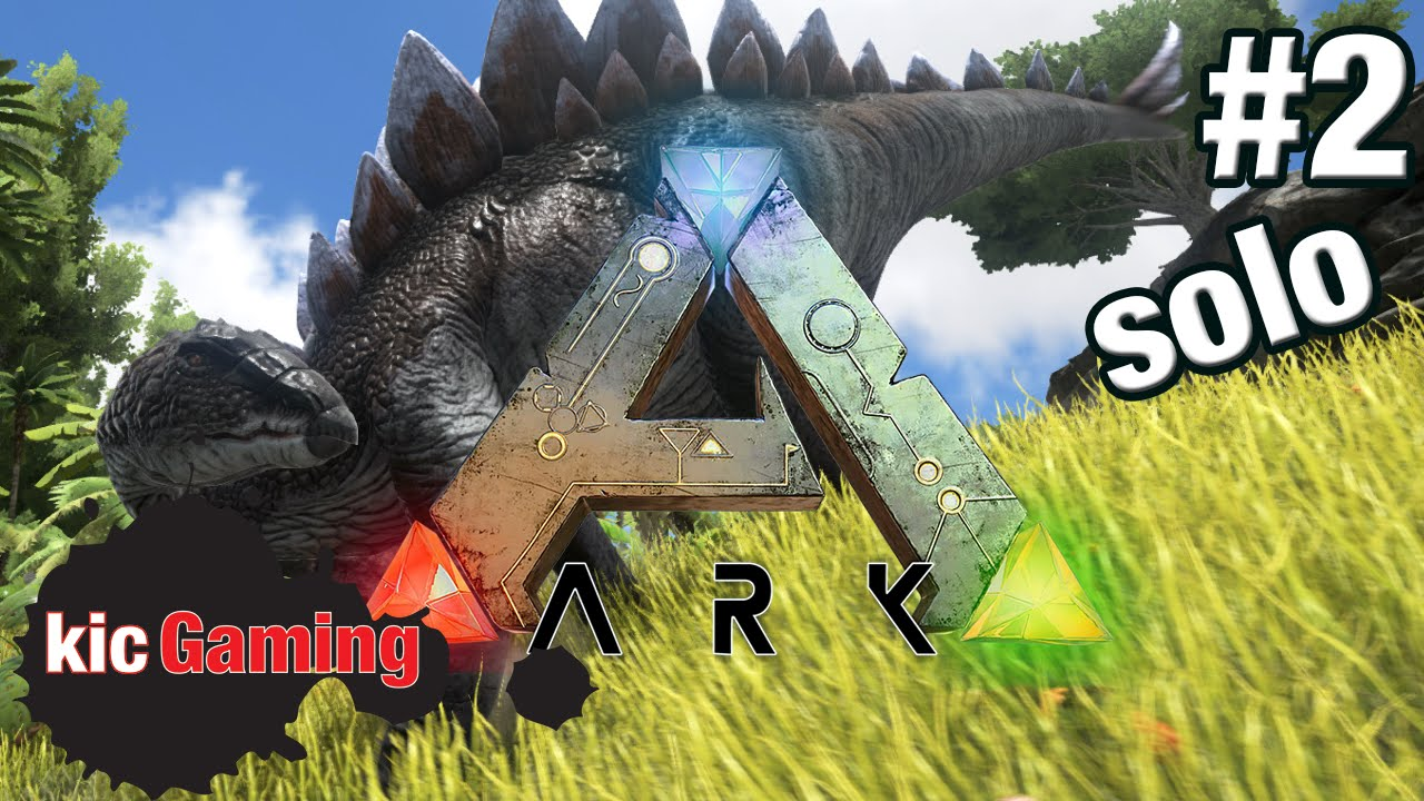 Lets play ark survival evolved single player survival ep 2 lets play ark survival evolved single player survival ep 2 build a base youtube malvernweather Choice Image