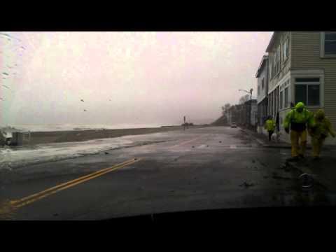 hurricane Sandy Boston Winthrop MA