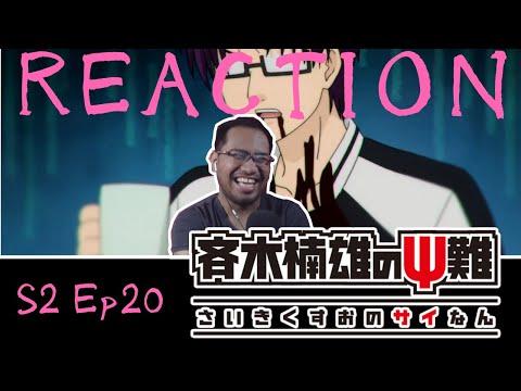 Saiki Kusuo No Psi Nan 2 Episode 20 [REACTION]
