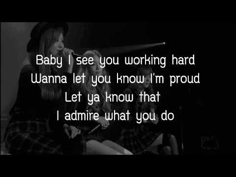 Cater 2 U - TTS (Lyrics)