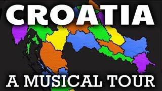 Croatia Song for Kids | Croatian Provinces & Geography