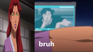Justice League vs. Teen Titans Scene-Nightwing wants to give Starfire the D