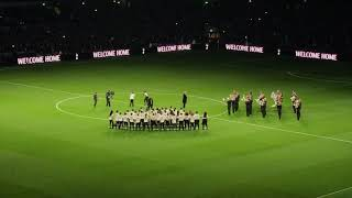 Tottenham vs Crystal Palace | Tottenham Hotspur Stadium Opening Ceremony