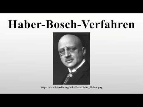 Haber-Bosch-Verfahren