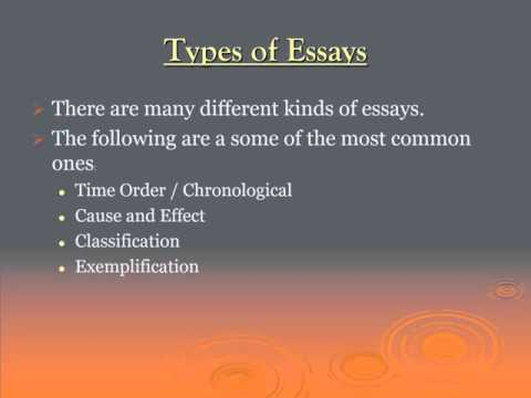 different types of essay questions One problem in doing that is there are different types of ielts essay questions each of which poses its own problems in this post, i talk you through the three main types of essay questions and show you how to identify them and what problems they pose1.