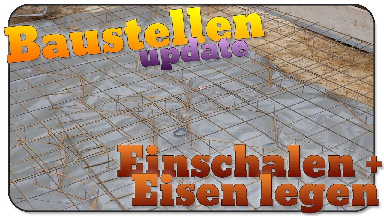 Turbo Baustellen update #07: Einschalen und Eisen legen - YouTube AK12