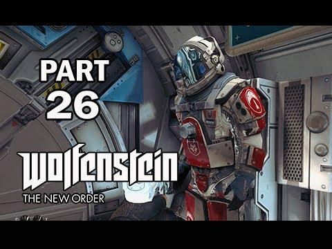 Wolfenstein: The New Order Walkthrough Part 26 - Zero Gravity (PS4 Gameplay Commentary)