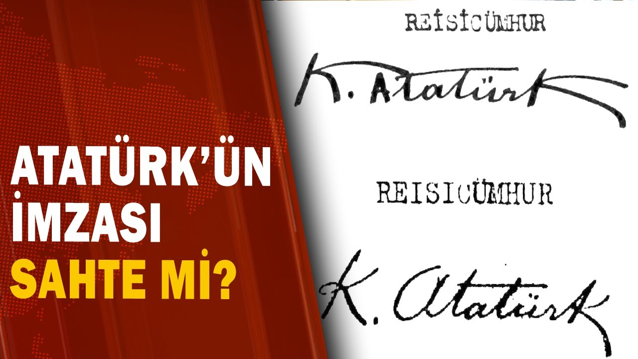 Ayasofya'yı Müzeye Dönüştüren Atatürk'ün İmzası Sahte Mi? / A Haber