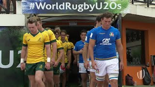 Italy 15-44 Australia - World Rugby U20 Championship Highlights