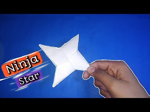 paper-origami-|-ninja-star-|-easily-|-at-home-|-without-glue-or-tape