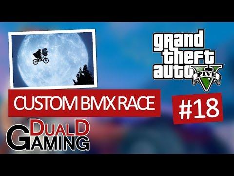 GTA V PC #18 - Custom BMX Race