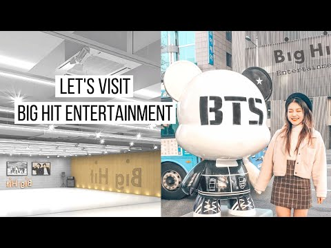 Let's Go To Big Hit Entertainment | BTS's Favourite Places in Seoul | dearnessie