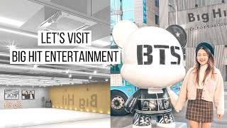 Let's Go To Big Hit Entertainment | BTS's Favourite Places in Seoul | dearnessie Video