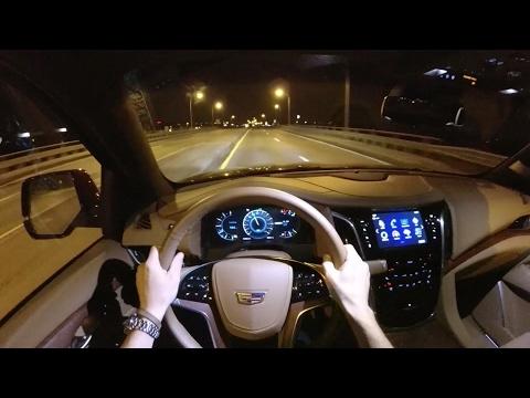 2017 Cadillac Escalade Platinum - POV First Impressions (binaural audio)
