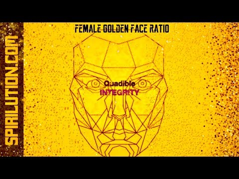 ★Female Golden Face Ratio - Facial Symmetry Formula★ Subliminal Binaural Beats Meditation