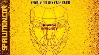 ★Female Golden Face Ratio - Facial Symmetry Formula★ (Bina…