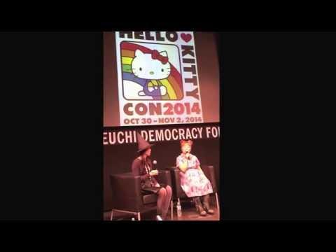 Yuko Yamaguchi and Marie at Hello Kitty Con 2014 7