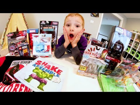 SO MANY TOYS! / Father Son Unboxing! - Star Wars, Avengers, MORE!