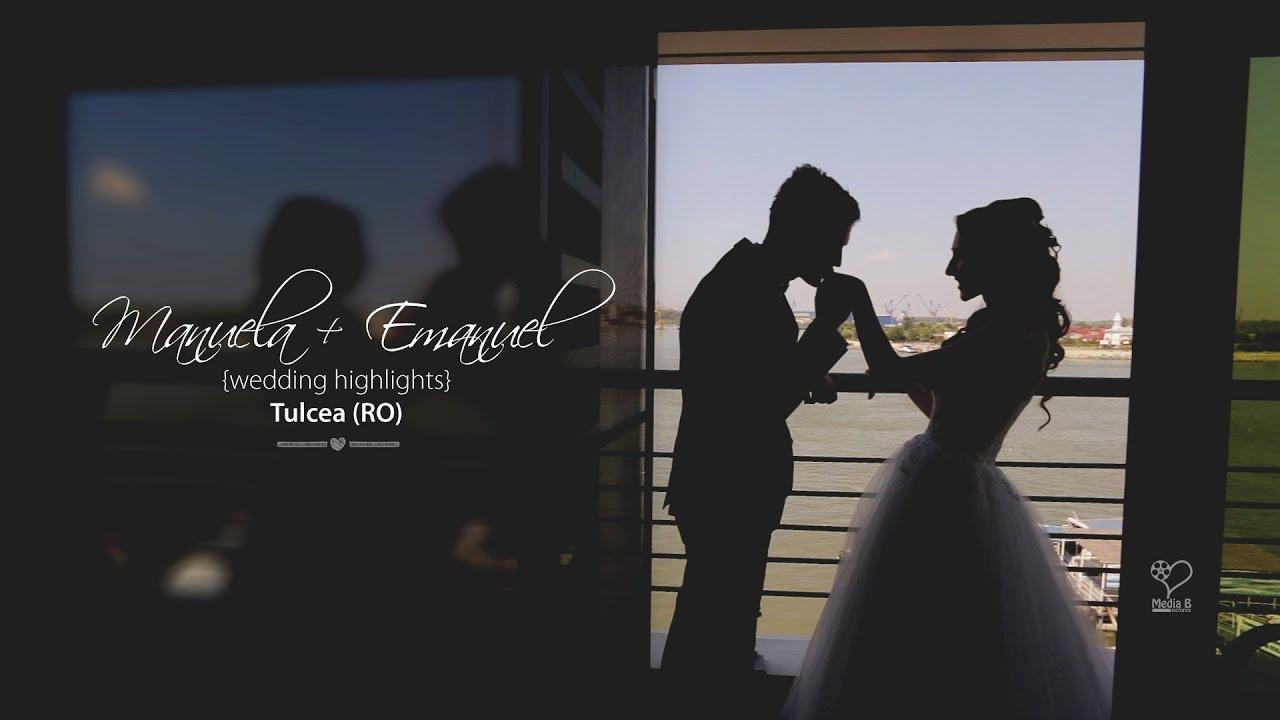 Clip Cinematic Nunta Cu Drona Tulcea Emanuel Manuela Youtube