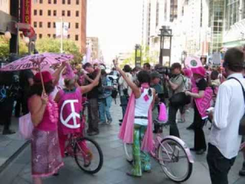 Street Scenes and Video Clips I Filmed at the 2008 Democratic Convention in Denver