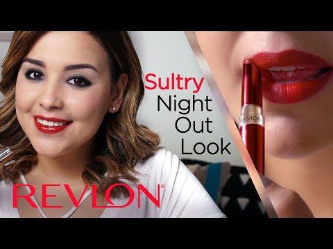 Dramatic Smokey Eye and Bold Red Lip with MakeupbyAmarie | Revlon