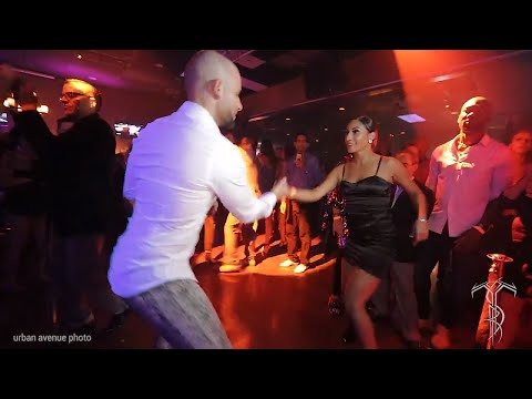 ATACA & JULISSA CRUZ Salsa Social Dance At THE SALSA ROOM
