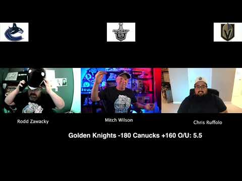 Vegas Golden Knights vs Vancouver Canucks 8/23/20 NHL Pick and Prediction Stanley Cup Playoffs