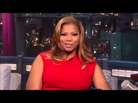 Queen Latifah interview on David Letterman   September 5, 2013
