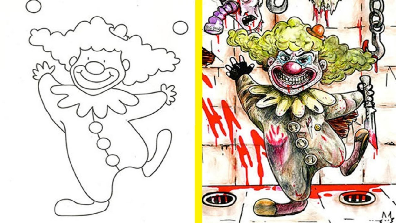 The Most Disturbing And Inappropriate Coloring Book Corruptions NSFW