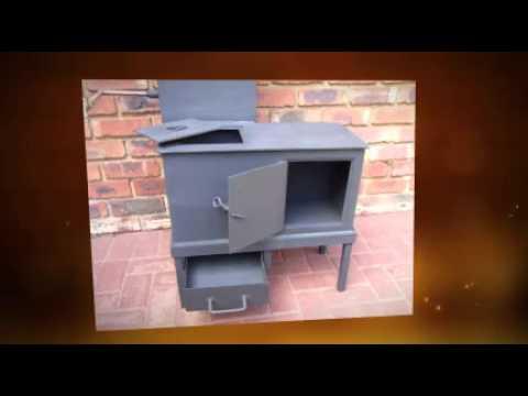 Small Wood Stove - Small Wood Stove - YouTube
