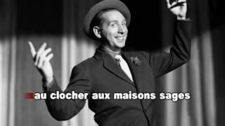 Charles Trenet Douce France karaoké