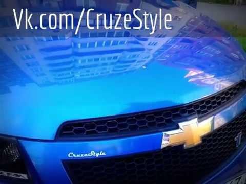 Наклейки на эмблему Chevrolet Cruze