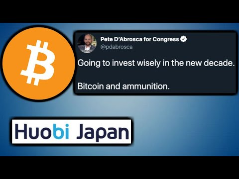 US Politicians Investing in BITCOIN – Huobi Japan Crypto Exchange To Raise $4.6 Million