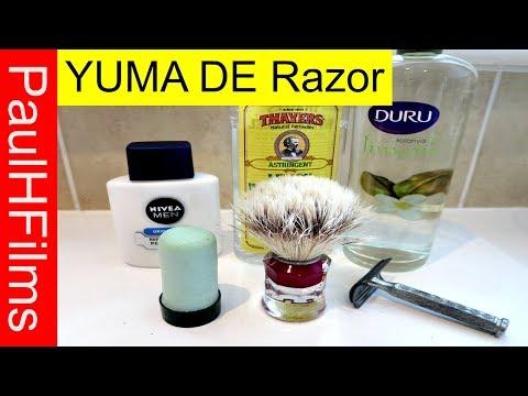 YUMA DE Razor  -  Palmolive Shave Stick