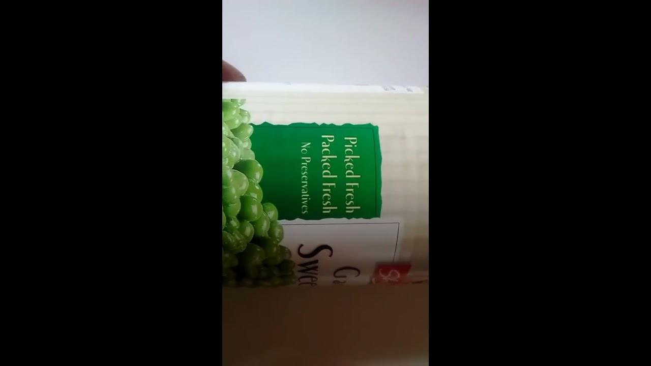 Garden sweet peas ShopRite - YouTube