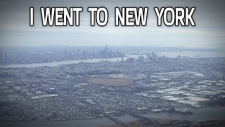My First Time in New York!