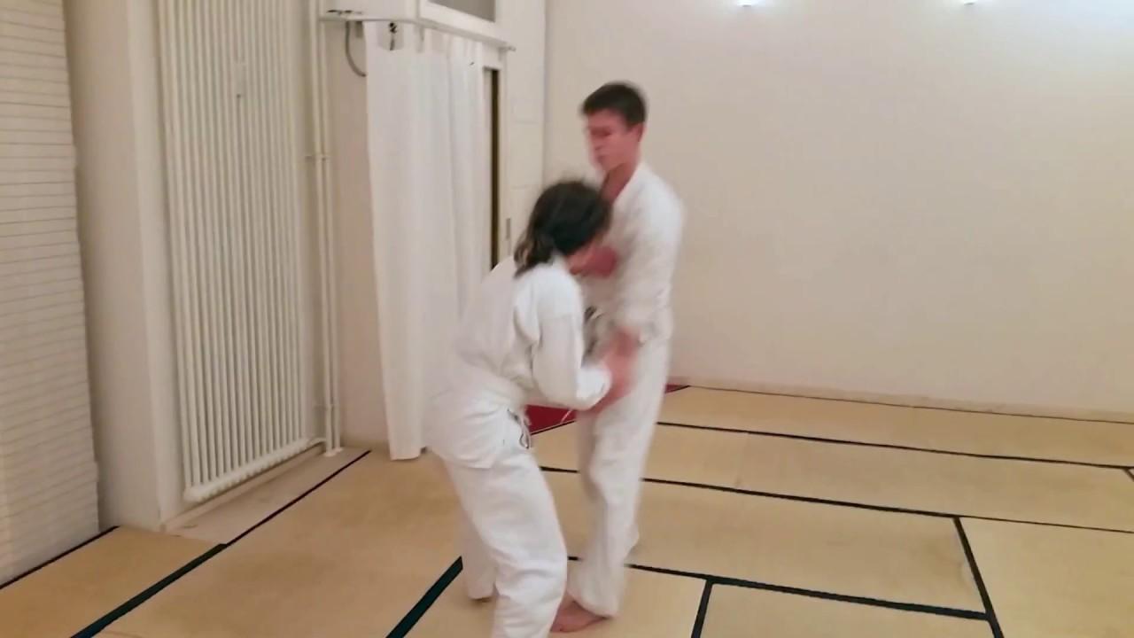 Aikido Jugend Berlin - Jugendtraining bei Tanden Dojo - Shihonage