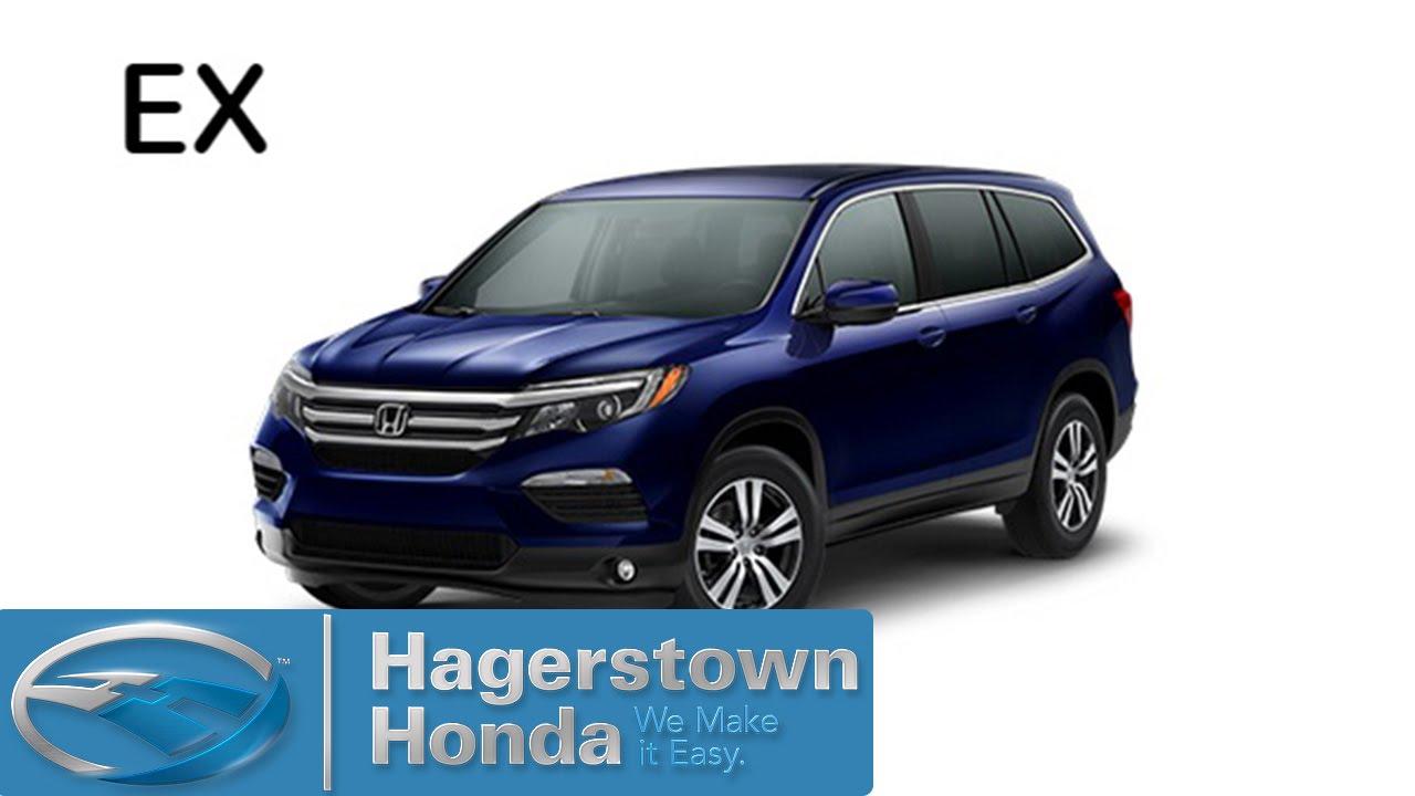 Honda Pilot Colors >> 2016 Honda Pilot Ex Colors Hagerstown Honda Youtube
