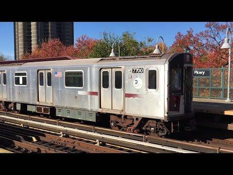 NYC Subway HD 60fps: R142 & R142A 4 Trains @ Mosholu Parkway (11/13/16)